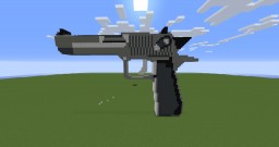 Desert Eagle (Working but it doesn't shoot far) Minecraft Map & Project