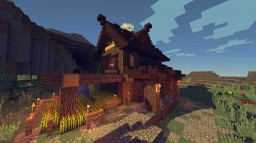 Medieval Farm House #8 Minecraft Map & Project