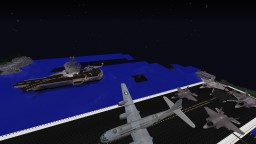 Minecraft MCHELI map - Aircraft carriers, best for 2 or more people !  [DOWNLOAD AVAILABLE] Minecraft Map & Project
