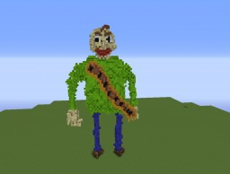 Baldi from Baldi's Basics Minecraft Map & Project