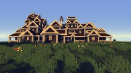 Colonial mansion Minecraft Map & Project