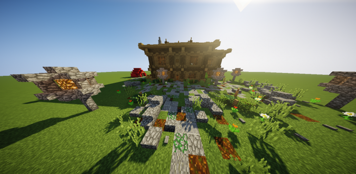 Survival Design Idea Simple Minecraft Project