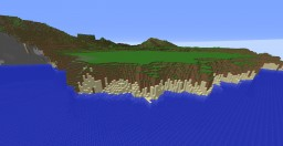 Creative Epic Tropical Island with Waterfalls, Volcanoes, and Custom Jungle Trees Minecraft Map & Project