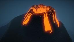 Small Island, Large Volcano Minecraft