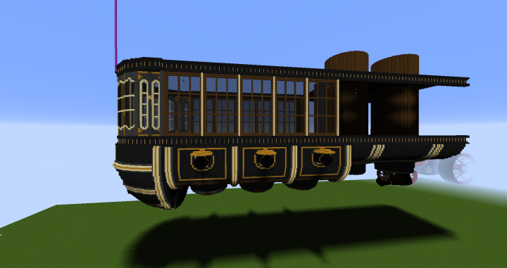 Popular Server Project : Steampunk Airship