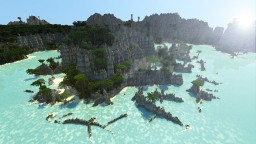 Tropical Island Minecraft