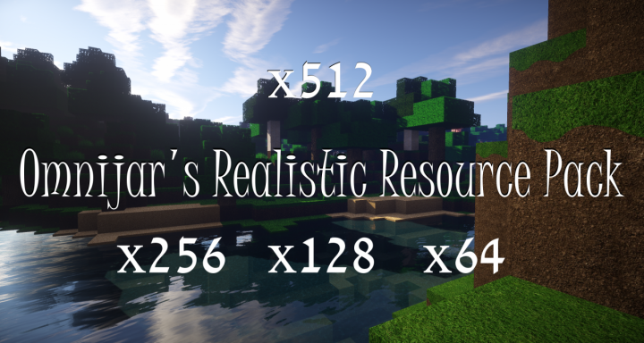 Popular Texture Pack : OmniJar's Realistic Resource Pack