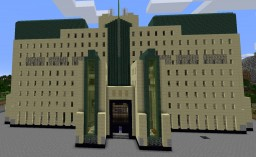 MI6 Building in London - inside and out Minecraft Map & Project
