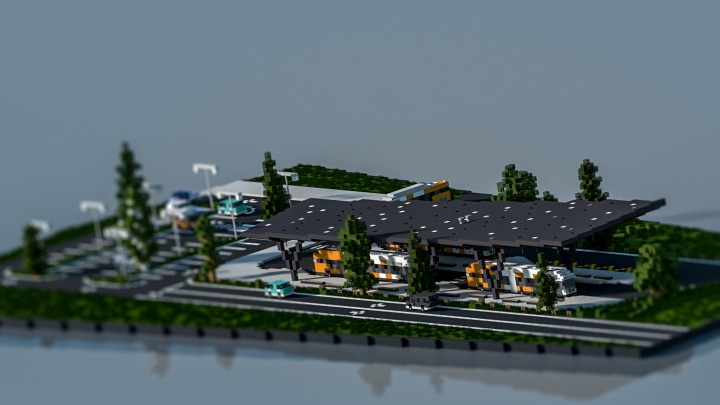 Popular Server Project : Bus Station - TheVisual_Play