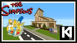 Simpsons Springfield Church Minecraft Map & Project