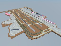 Frankfurt Airport, EDDF Minecraft Map & Project