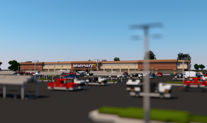 Popular Server Project : Walmart | A Retail Store | Inspire