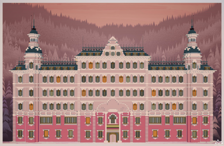 "Popular Project : ""The Grand Budapest Hotel"" by Dogester."