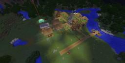 Minecraft Redstone village 1.12.2 Minecraft Map & Project