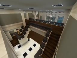 Mediterranean Mansion Pt. 2  Indoor 1st floor Minecraft Map & Project