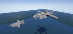 Bartini Beriev VVA-14 1,5:1 Minecraft Map & Project