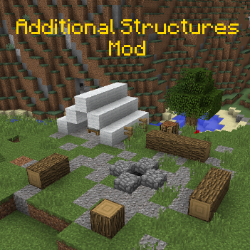 Popular Mod : Additional Structures