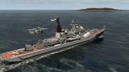 DD434 Admiral Ushakov- Sovremennyy (Sarych) class destroyer Minecraft