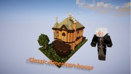 Classic American house Minecraft Map & Project