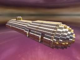 Her Majesty's Kingdom of Telucani: Malchidael-Class Troop Transport Minecraft Map & Project