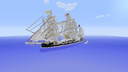 HMS Neptune 19th Century Turret Ironclad Minecraft Map & Project