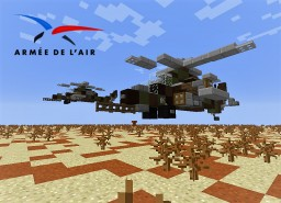 Hélicoptère Tigre Minecraft Map & Project