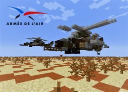 Hélicoptère Tigre Minecraft
