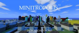 Minitropolis V2 Minecraft Map & Project