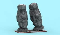 Moai Statues/ Easter Island Head Pack [Free Download] Minecraft