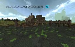 Medieval village of Mossbury Minecraft