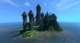 Medieval Times Castle Minecraft Map & Project