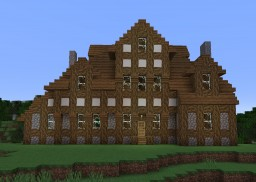 Medieval/Tudor-Revival House Minecraft Map & Project