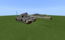 (ww2) German tiger 2 heavy tank Minecraft Map & Project