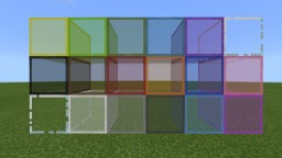 Better Glass! (Bedrock Edition) Minecraft Texture Pack