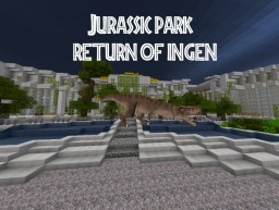 Jurassic world the Return of INGEN Minecraft Map & Project