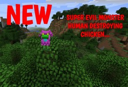 Superhuman Dimension and Powers Mod [UPDATE v2.0 CRAZY NEW MOB!] Minecraft Mod