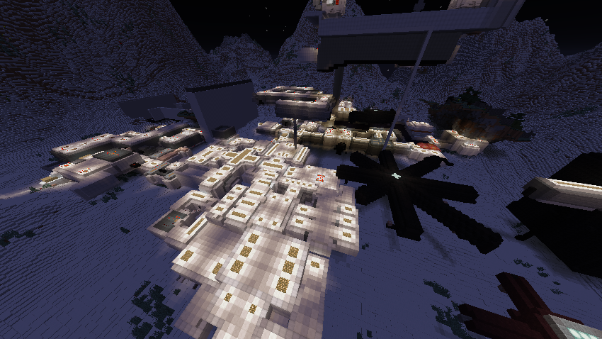 SCP Site 19 - Map Minecraft Project
