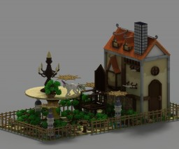Giant Home Graden Fantasy Minecraft
