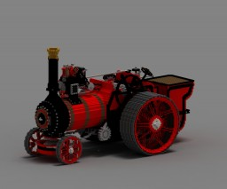 Royal Chester Steam Engine Minecraft Map & Project