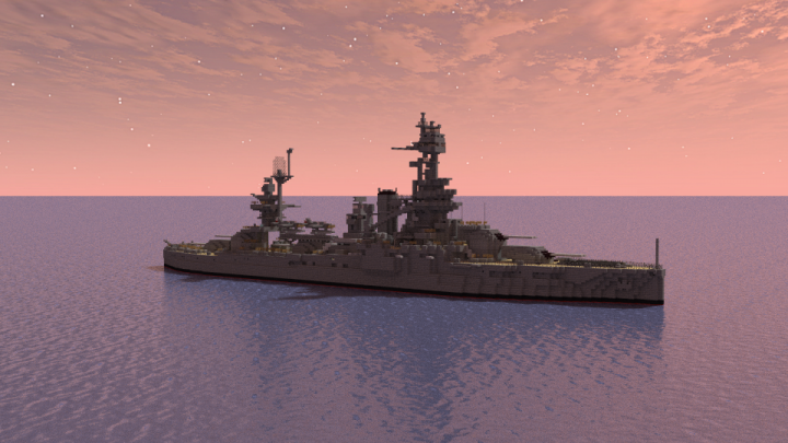 Popular Project : USS Texas (BB-35)
