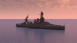 USS Texas (BB-35) Minecraft Map & Project