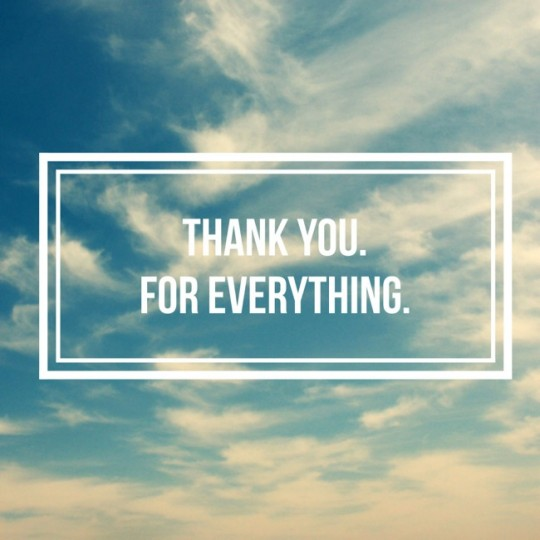 Popular Blog : a Thank you letter, to Everyone.