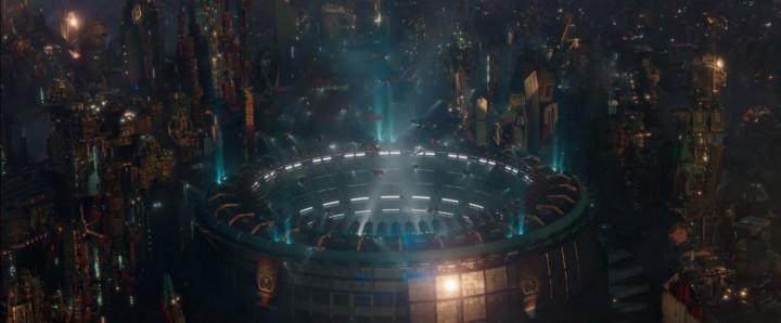 Upper View of the Outside - Thor Ragnarok