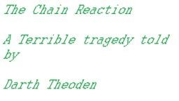 The Chain Reaction Minecraft Blog Post