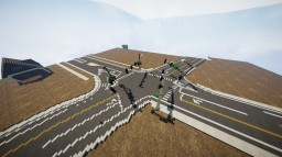 Hill Rd. & Bogus Basin Rd./Harrison Blvd. | Idaho | Blueprint Minecraft Map & Project