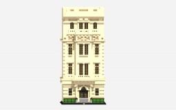 West Europian Townhouse (Aliquam Creative) Minecraft