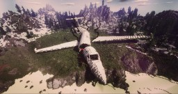 ๑ The Plane Crash + DOWNLOAD ๑ Minecraft Map & Project