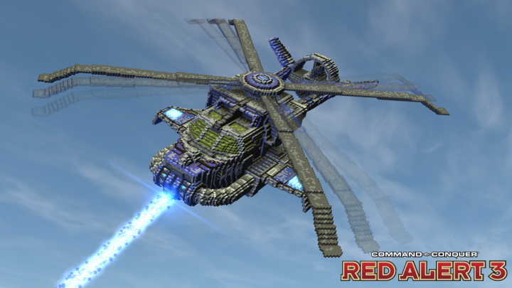 Popular Project : Cryocopter   C&C Red Alert 3 [⬇]