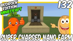 Super Charged Nano Farm Minecraft Map & Project