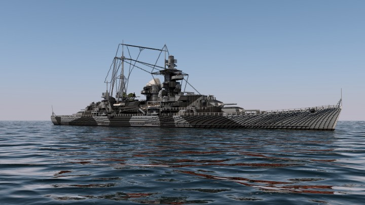 Popular Project : DKM Admiral Hipper - 4:1 Scale